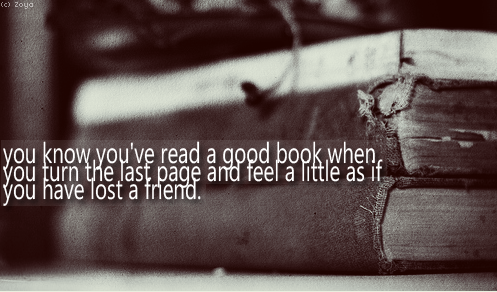 Quote about good books