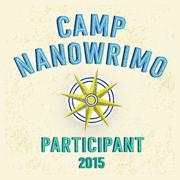 Camp NaNoWriMo Participant 2015 badge