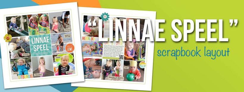 Linnae Speel Scrapbook Page Header